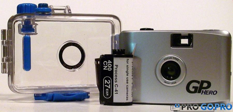 GoPro Hero 35мм обзор камеры
