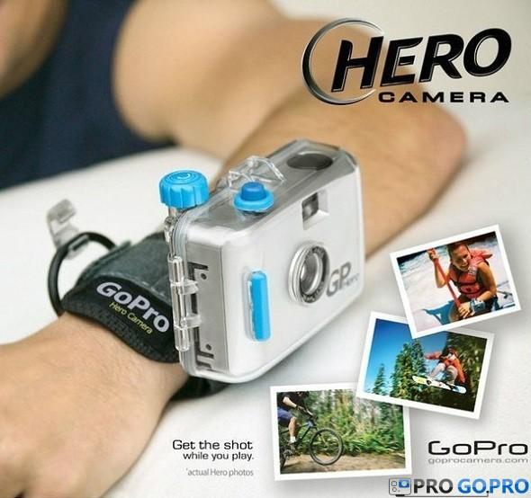 GoPro Hero 35мм с креплением на руку