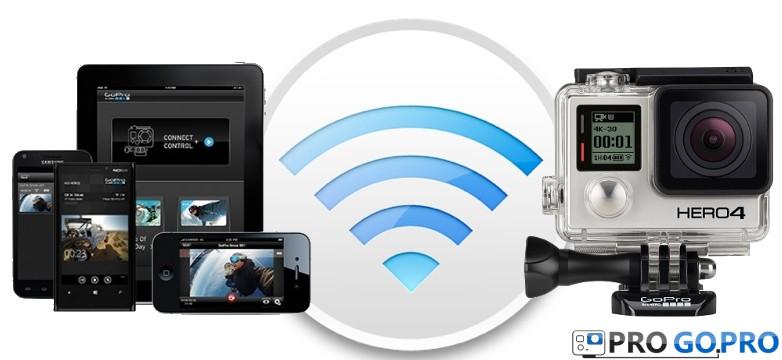 GoPro Hero4 BE управление с помощью GoPro APP