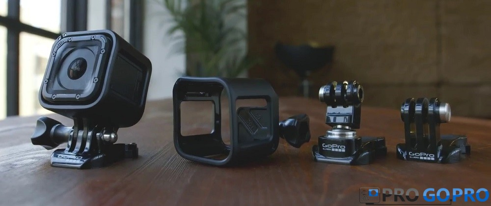 комплектация камеры gopro hero4 session