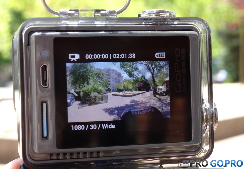 Обзор экшн камеры GoPro Hero+ LCD особенности