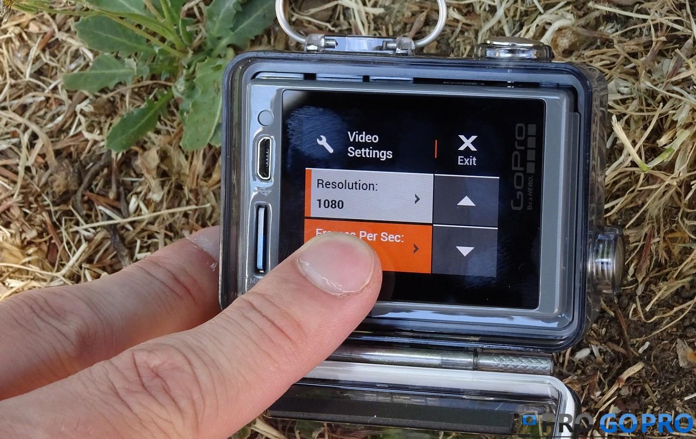 сенсорный экран GoPro Hero+ LCD