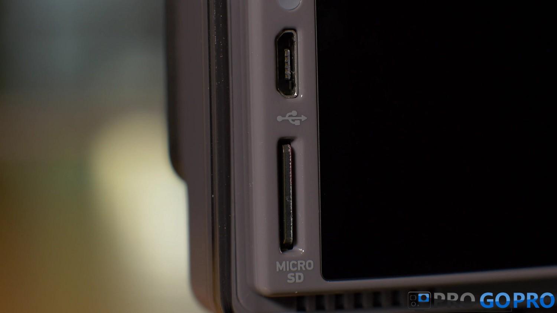 GoPro Hero+ LCD слот карты памяти