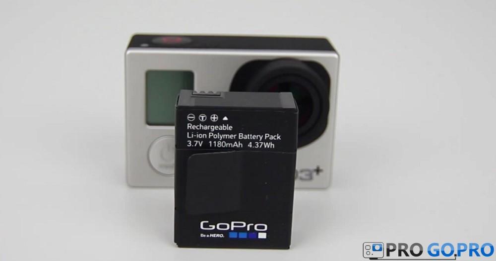 аккумулятор  GoPro Hero3+ Silver Edition
