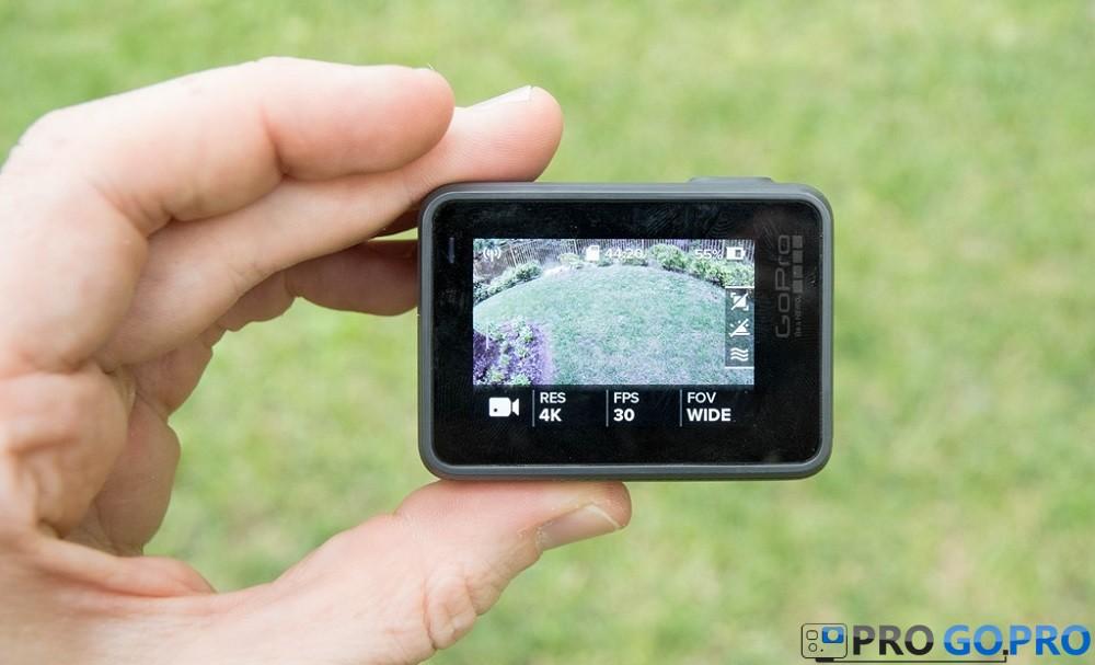 GoPro Hero5 Black дисплей Touchscreen