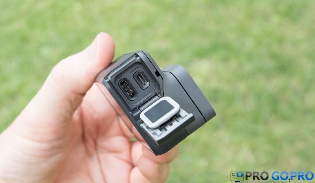 GoPro Hero5 Black порты USB и HDMI