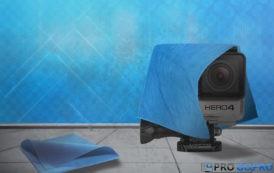 Как очистить объектив камеры GoPro