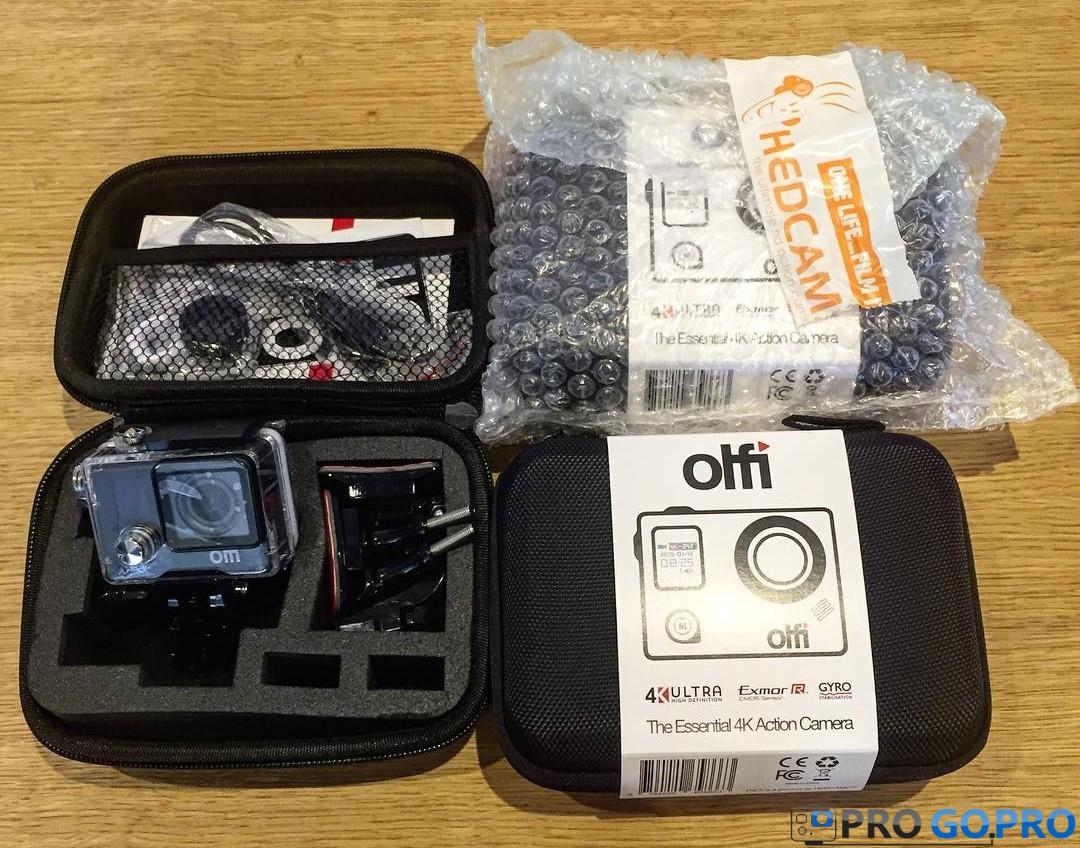 Комплект поставки камеры Olfi