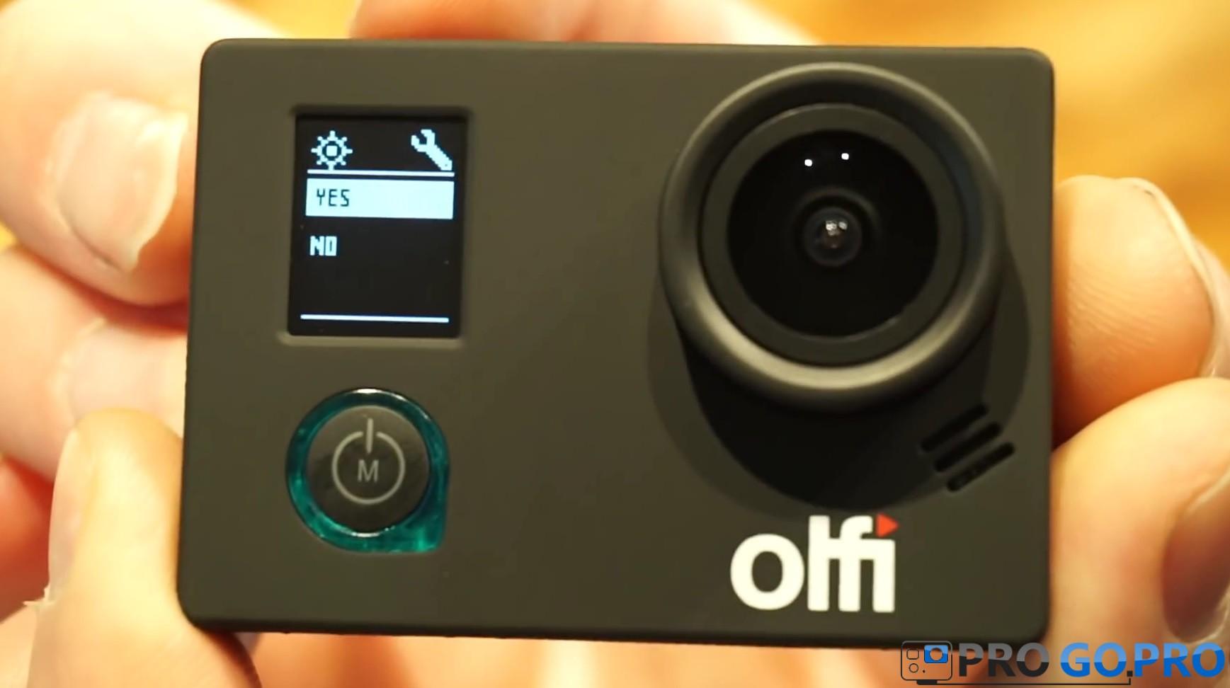 дисплей экшн камеры Olfi