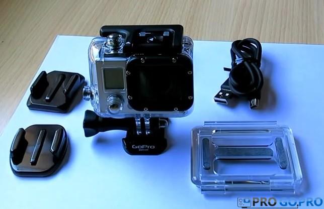 Комплектация камеры GoPro_Hero3_White_Edition