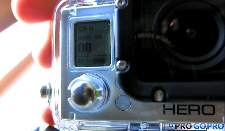 Управление камерой GoPro_Hero3_White_Edition