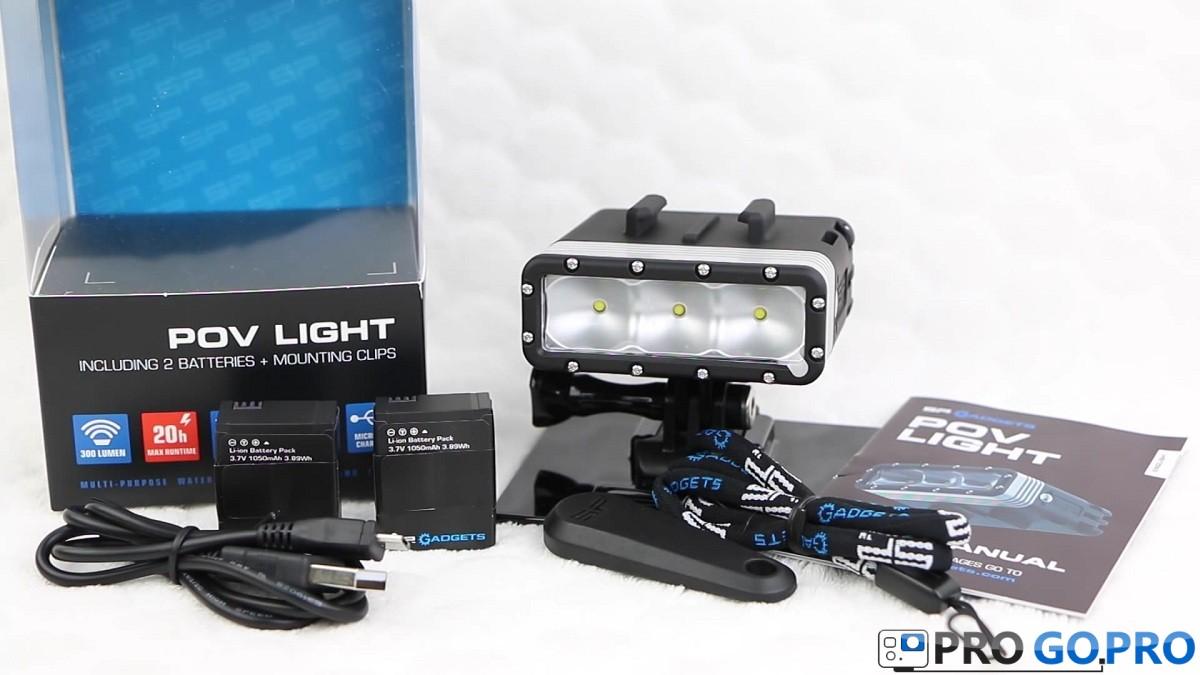 светодиодный фонарик POV Light для GoPro -