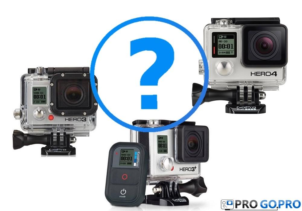 Какую камеру GoPro выбрать