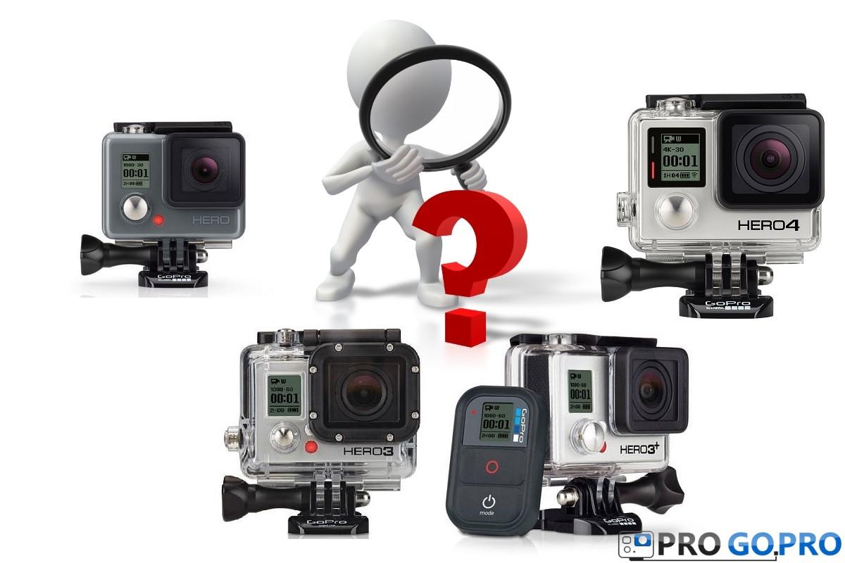Какую экшн камеру GoPro выбрать