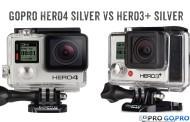 Камера GoPro HERO4 Silver против HERO3+ Silver