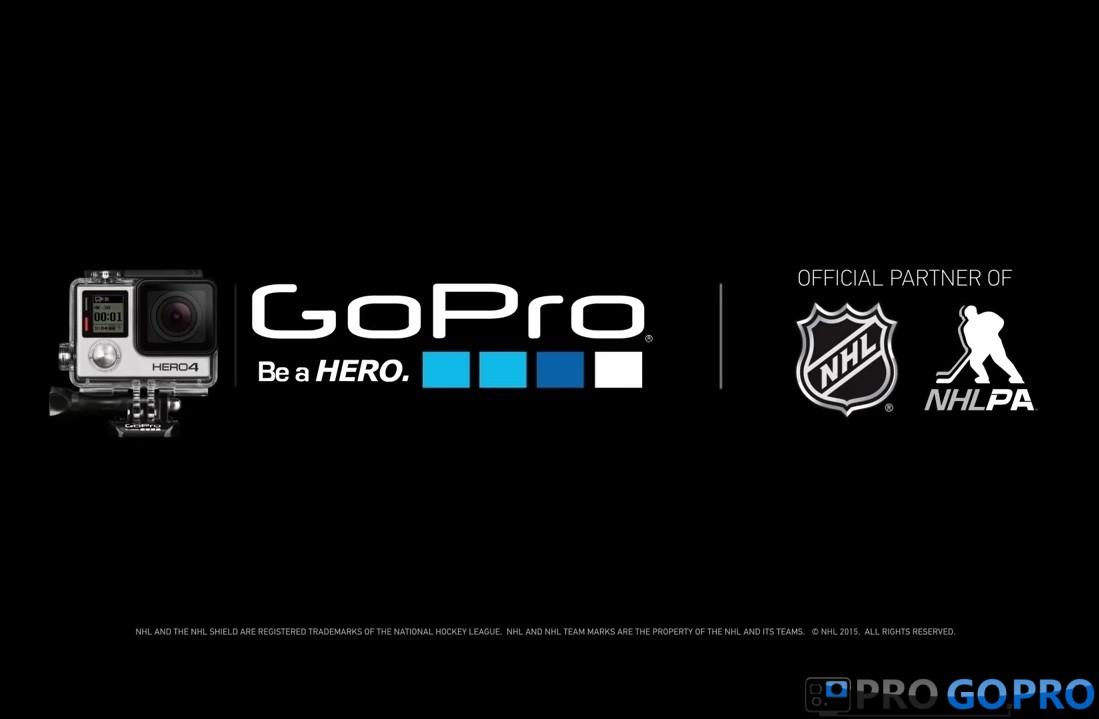 НХЛ начнет транслировать матчи с помощью камер GoPro