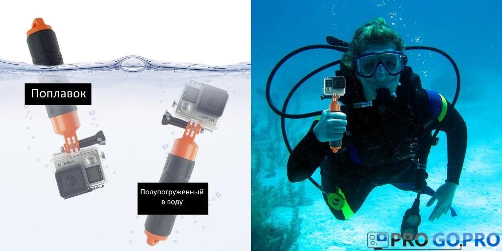 Premium CamKix Bobber для камеры GoPro в воде