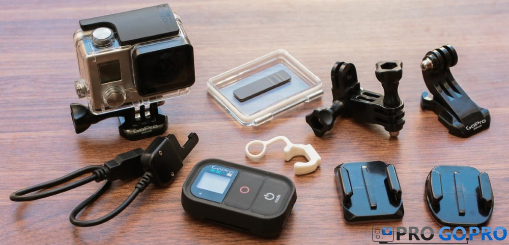 комплектация камеры GoPro Hero3+ Black edition
