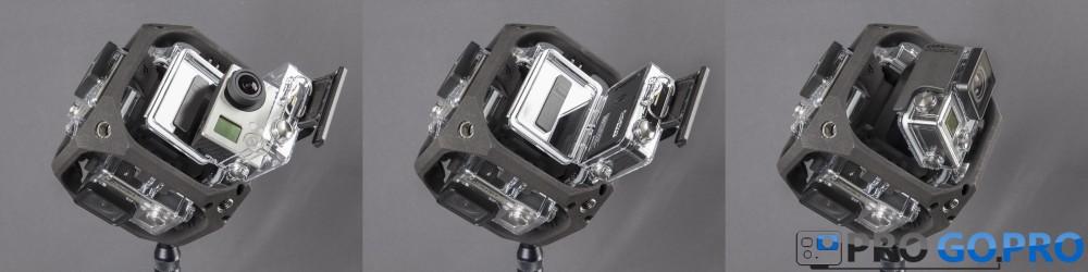 Сферическая съёмка — это просто с креплением от GoPro