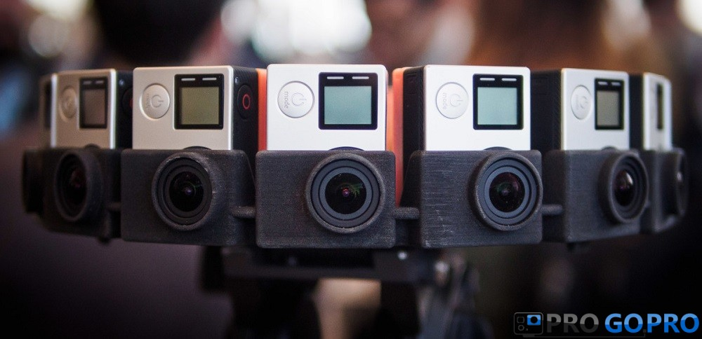 GoPro и Google Jump