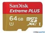 SanDisk Extreme PLUS 64GB.