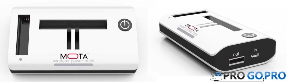 Обзор беспроводного зарядного устройства Mota Wireless Charger для GoPro