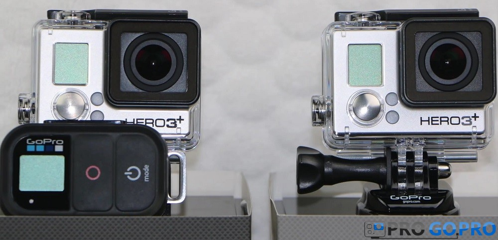 Сравнение GoPro Hero3+ Silver Edition и Hero3+ Black Edition