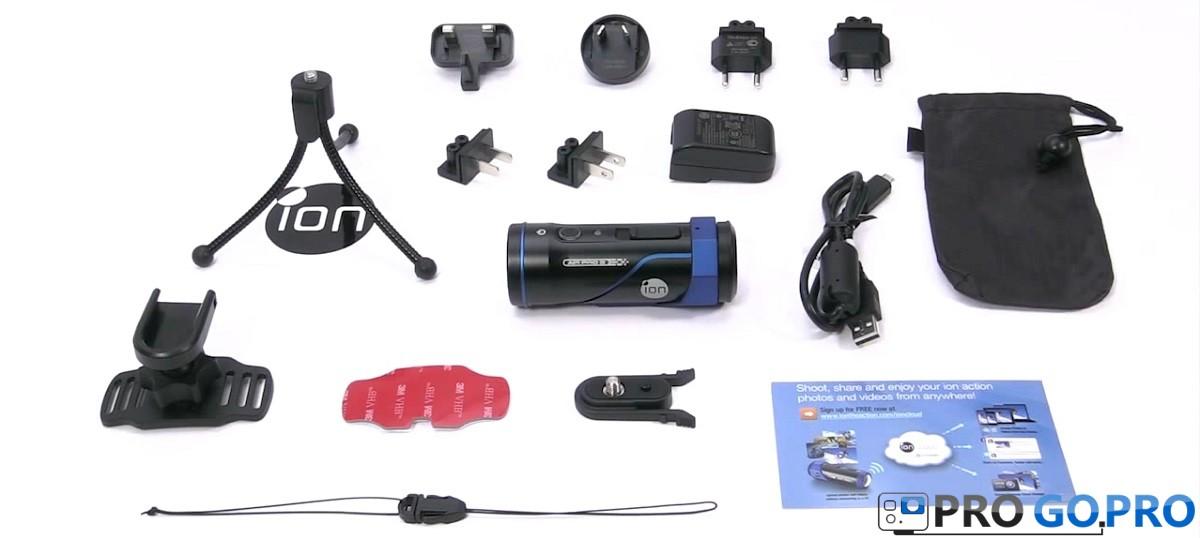 Комплектация камеры iOn Air Pro 3