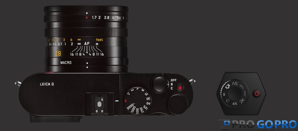 GoPro Hero Voyager аналогия с зеркальным фотоаппаратом