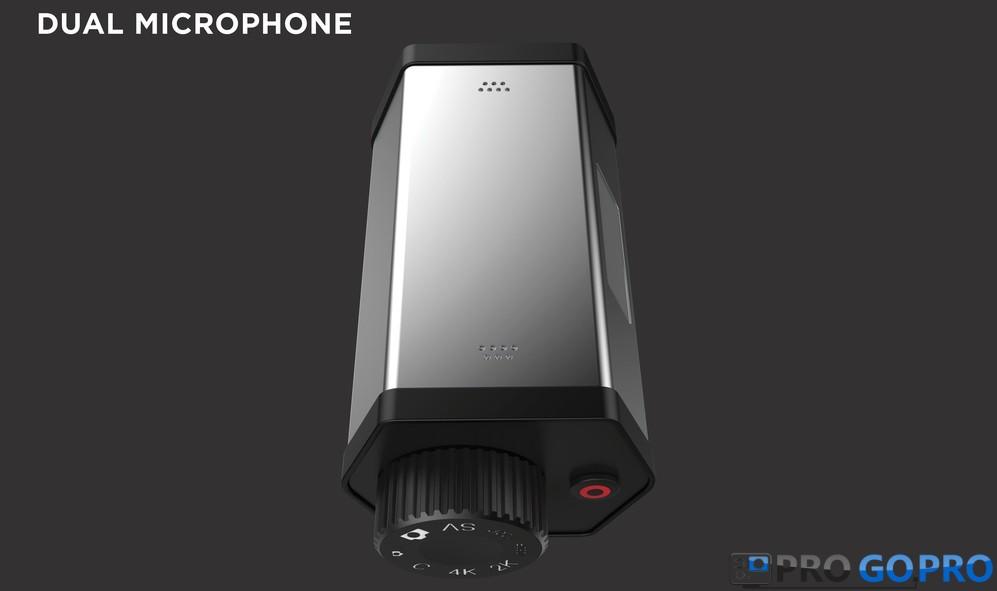 GoPro Hero Voyager два микрофона