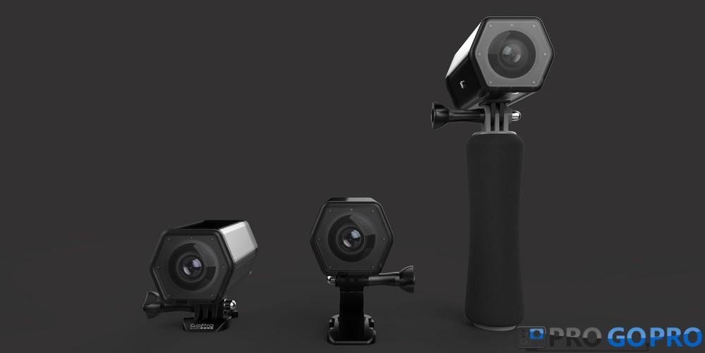 GoPro Hero Voyager разные варианты установки крепления
