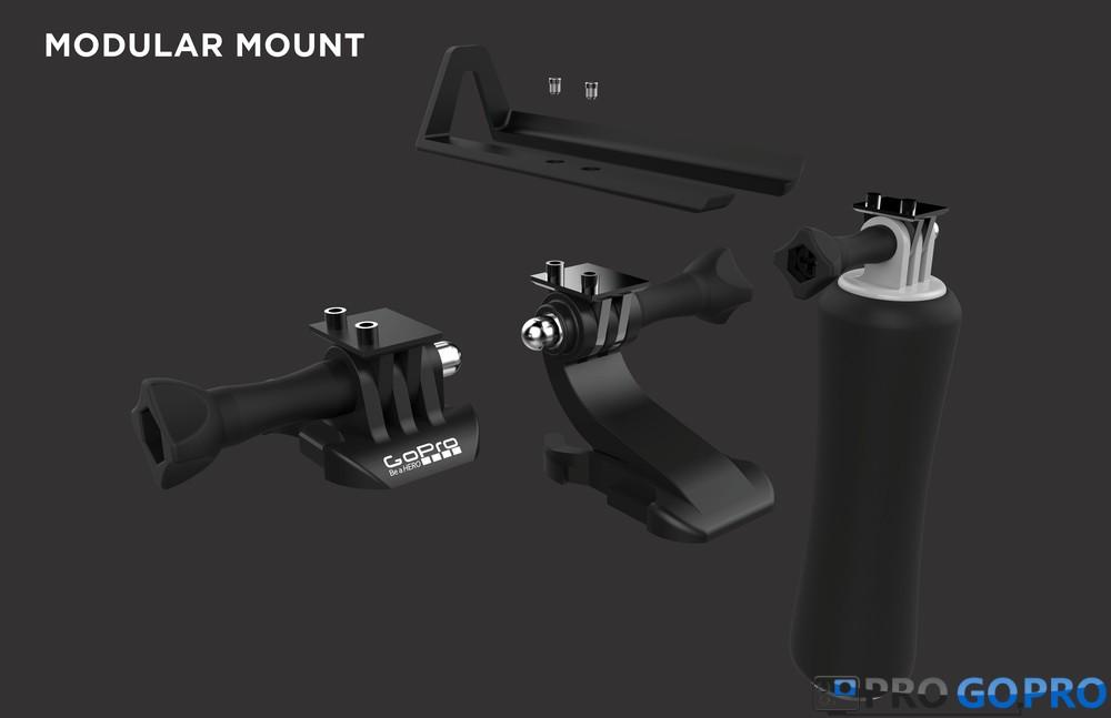 GoPro Hero Voyager съемные крепления
