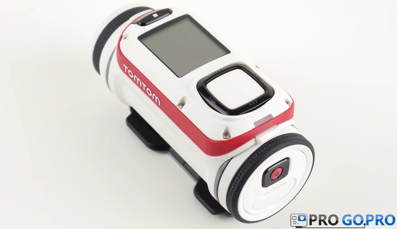 Дизайн и особенновсти экшн камеры TomTom Bandit