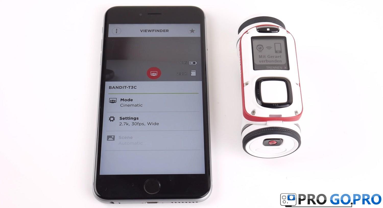 Мобильное приложение для камеры TomTom Bandit