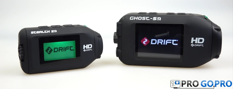 сравнение камеры Drift Stealth 2 с Drift Ghost-S