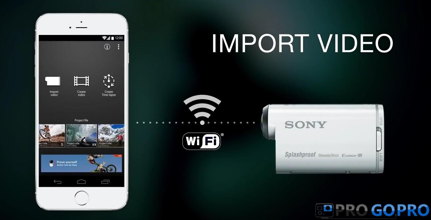 Мобильное приложение PlayMemories для sony