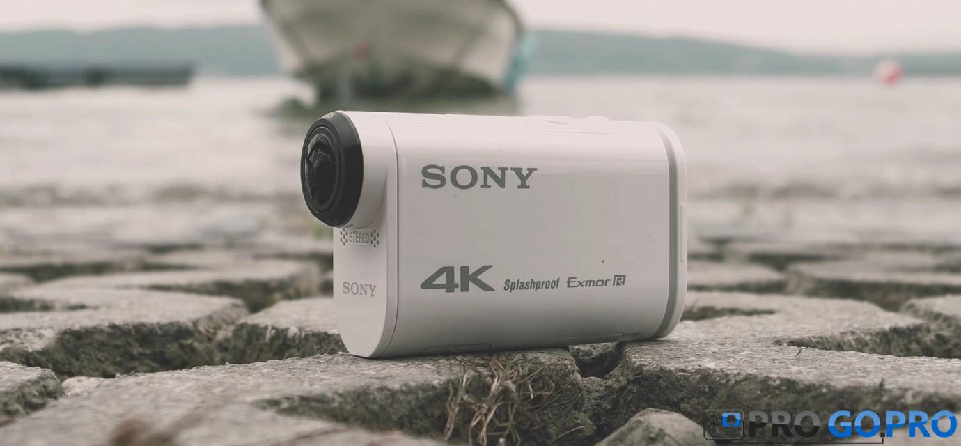 Обзор экшн-камеры Sony FDR-X1000V