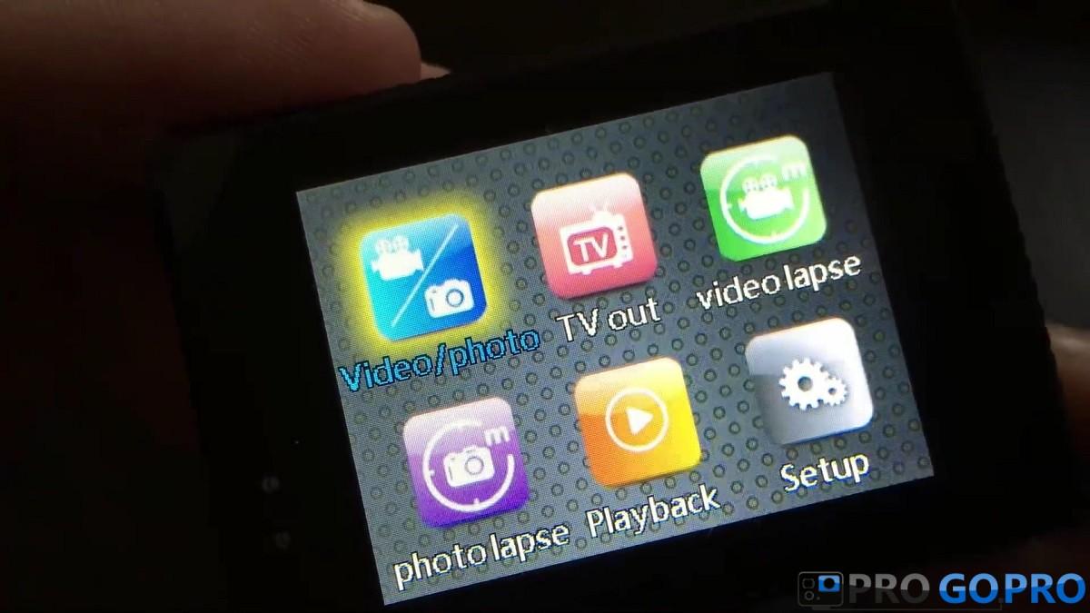 Экран камеры SJCAM SJ5000X