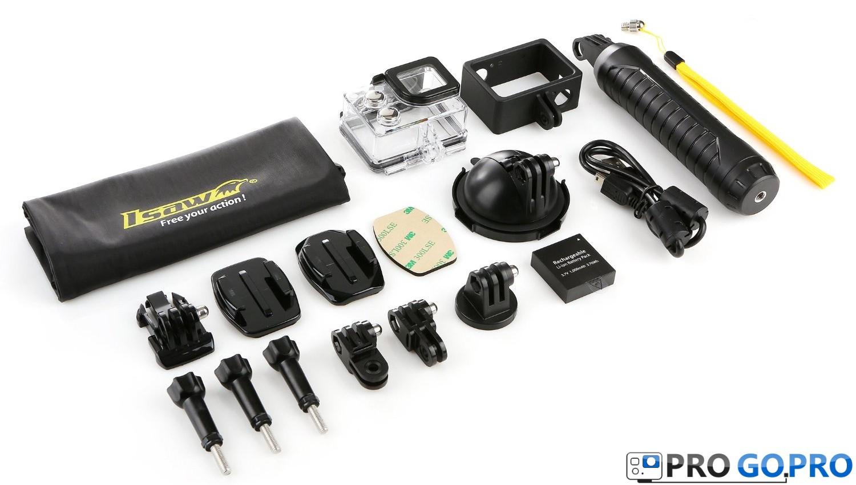комплектация камеры ISAW Edge