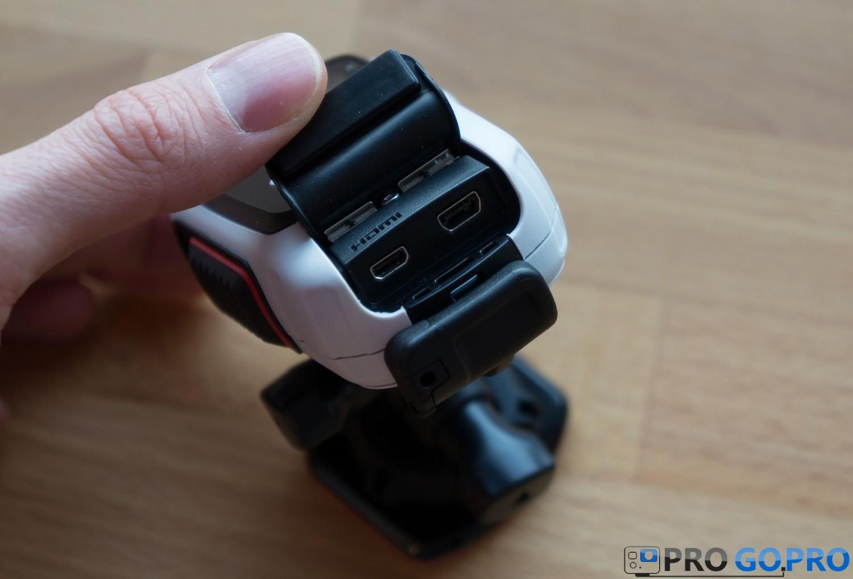 Обзор экшн камеры Garmin VIRB Elite вид сзади