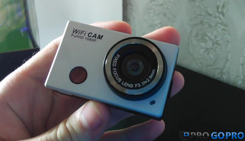 Отзыв об экшн камере WDV5000 от Гракова Павла