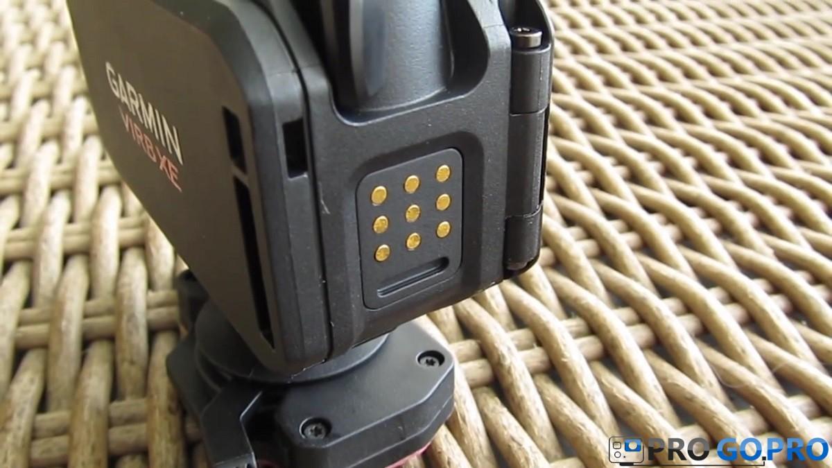 Фирменный разъем Garmin для подключения камеры Virb XE