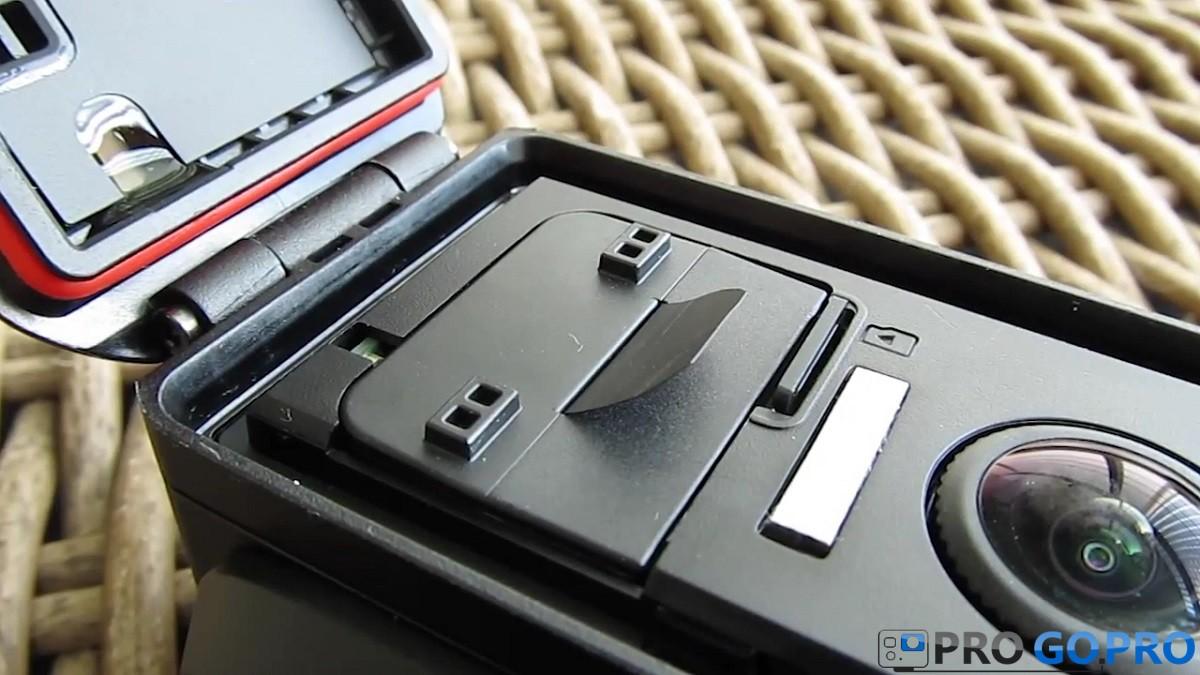 передняя панель камеры Garmin Virb XE