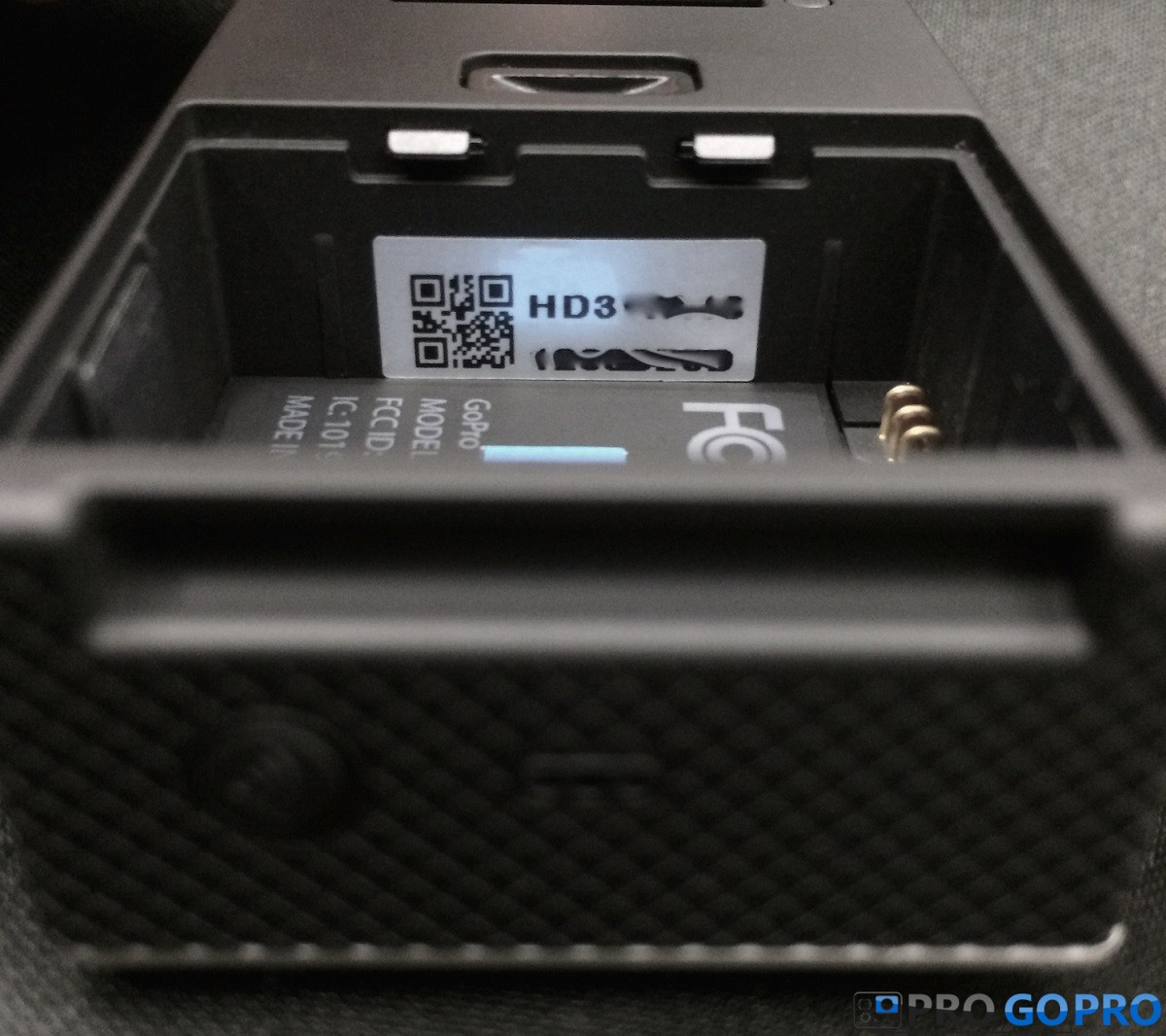 Серийный номер на камерах GoPro HERO3 всех моделей