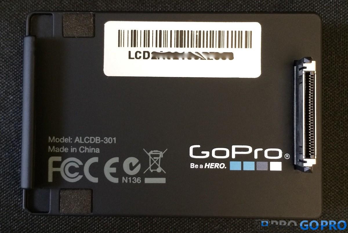 Серийный номер на LCD (Touch) BacPac
