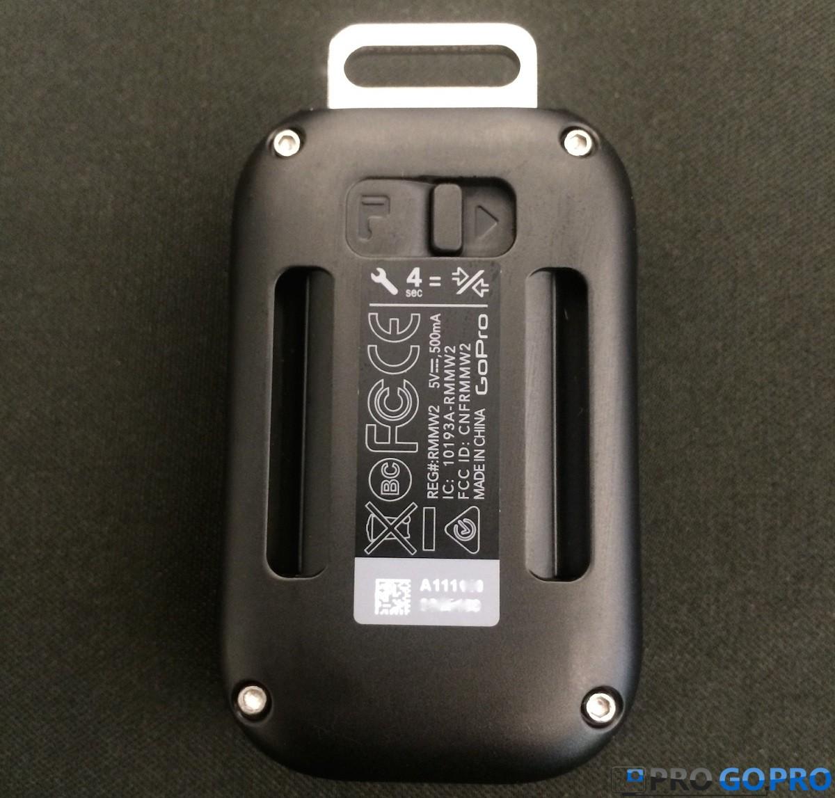 Серийный номер на Smart Remote