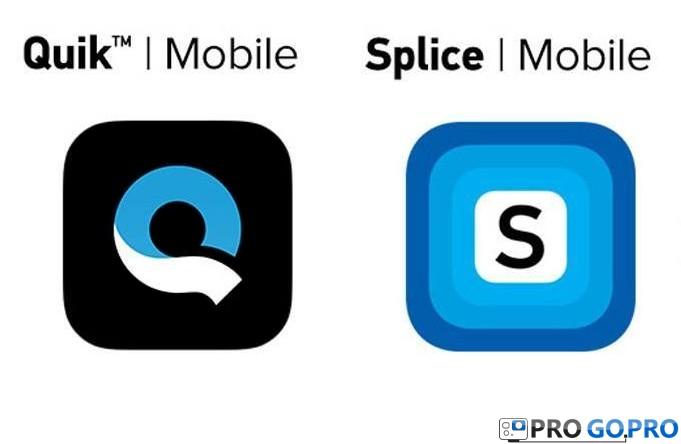 QUIK™ и SPLICE – креативные приложения для редактирования от компании GOPRO
