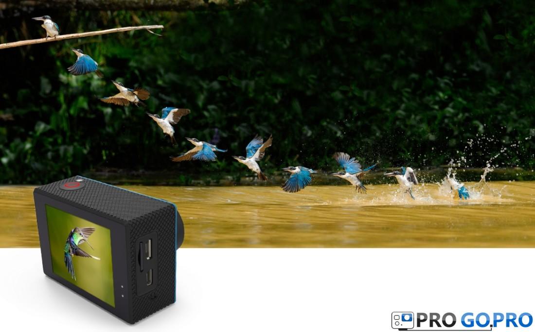 Камера SJCAM X1000 обладает режимом серийной съемки