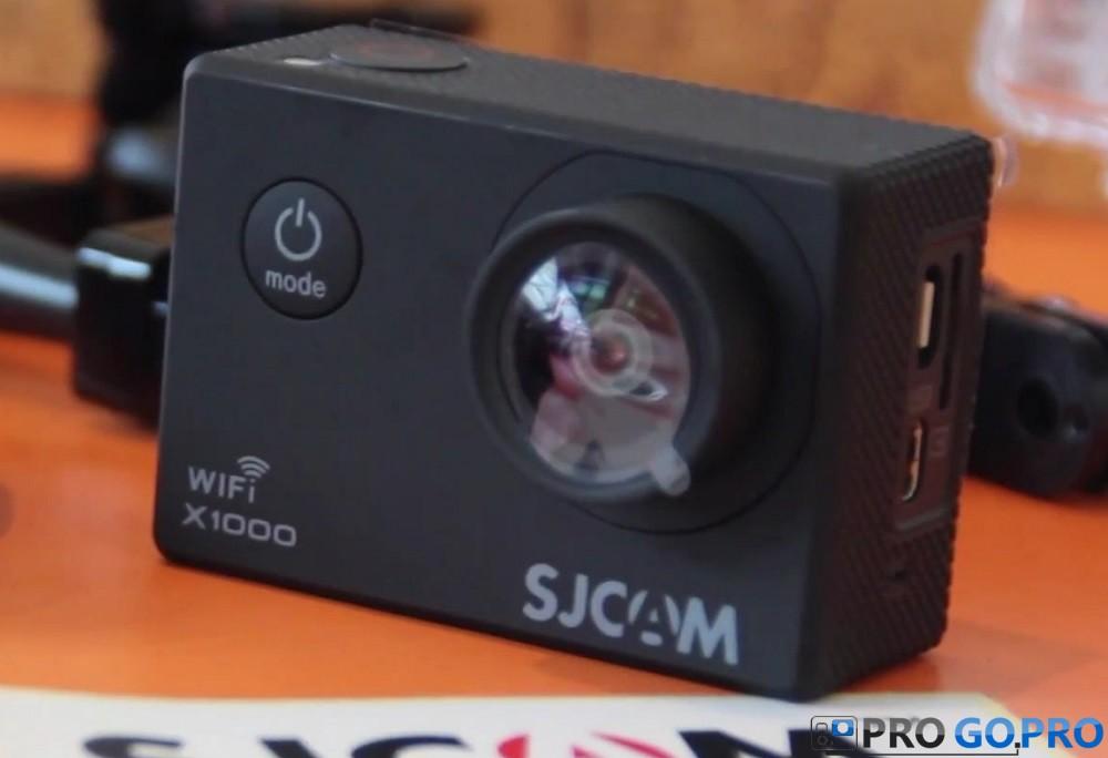 Обзор экшн камеры SJCAM X1000