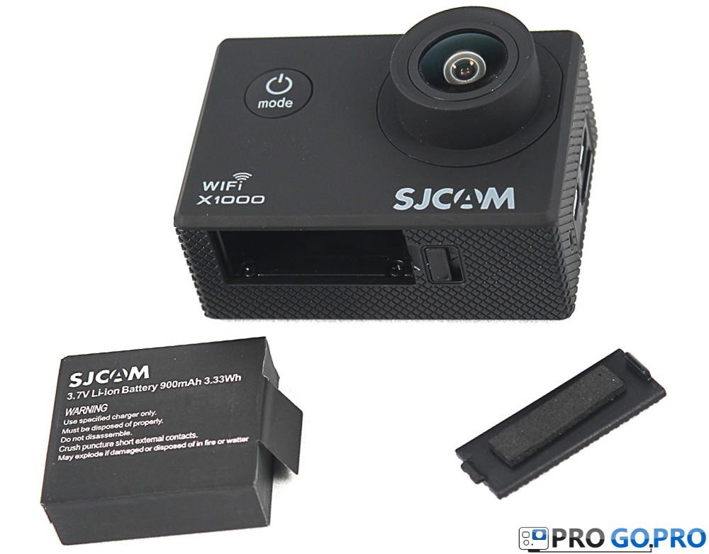 батарея экшн-камеры SJCAM X1000